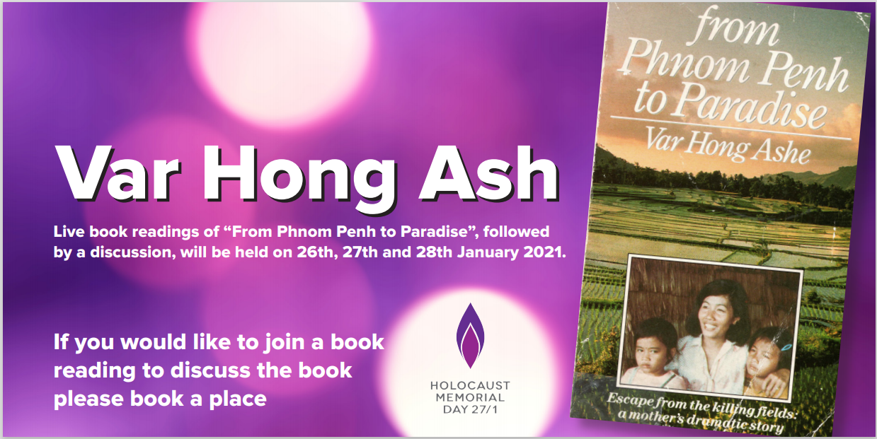 Var Hong Ash book reading for HMD