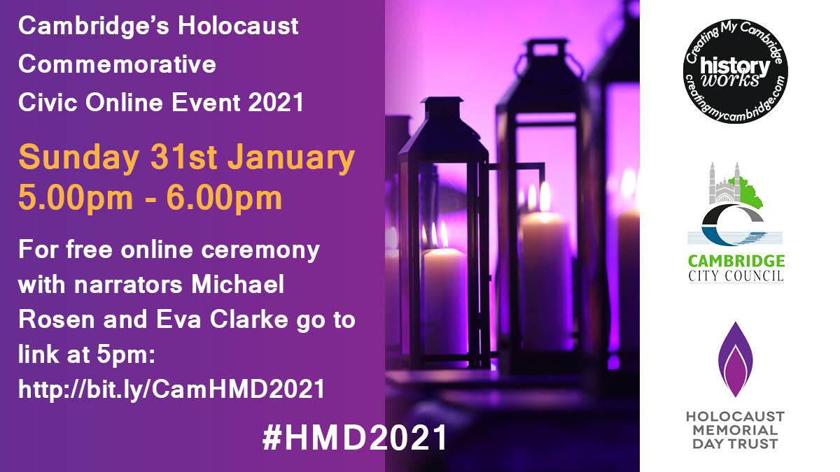 Cambridge Holocaust Commemorative Civic Ceremony