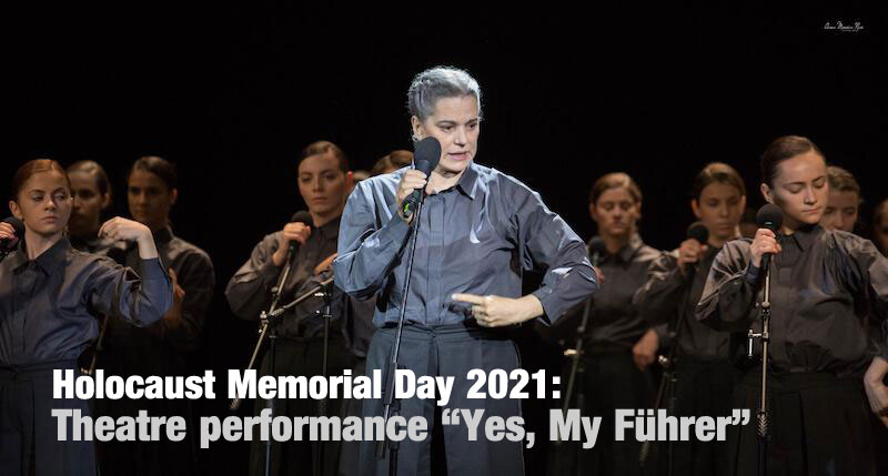 """Theatre performance """"Yes, My Fuhrer"""" by the Jewish State Theatre Bucharest"""